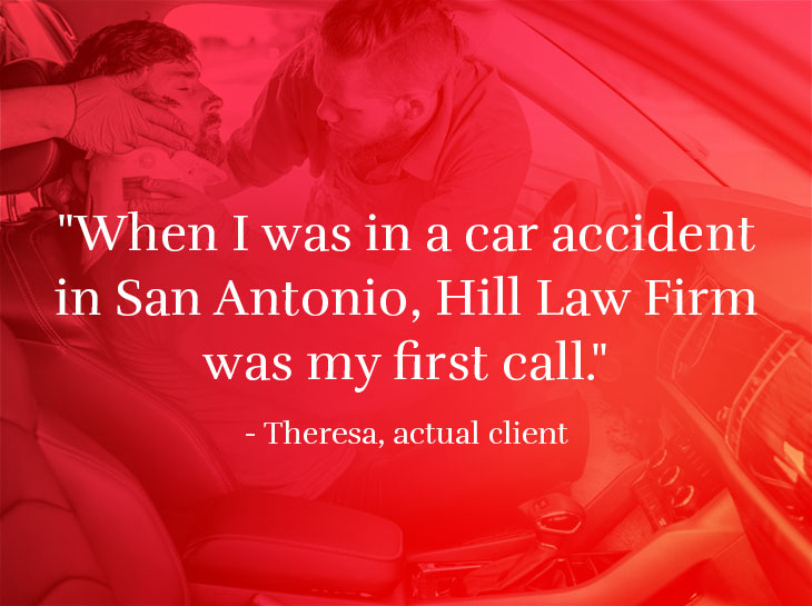 San Antonio car accident lawyer testimonial