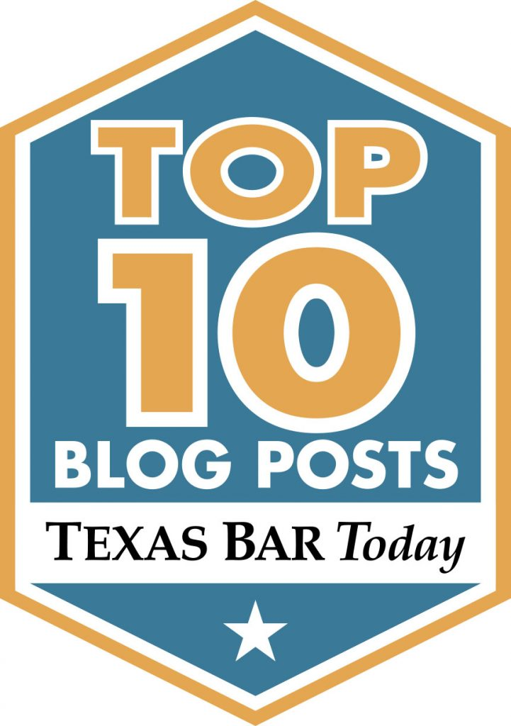 Top 10 Personal Injury Blog Post in Texas