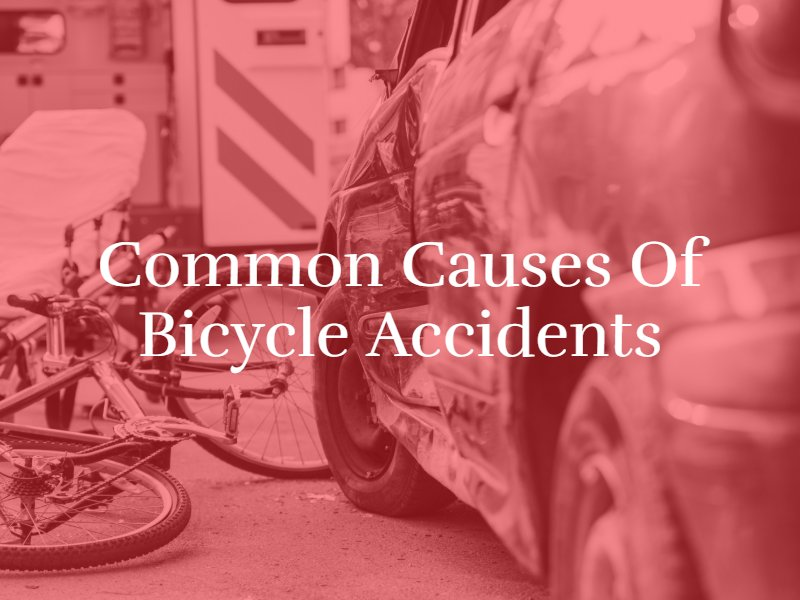 Common Causes of Bicycle Accidents